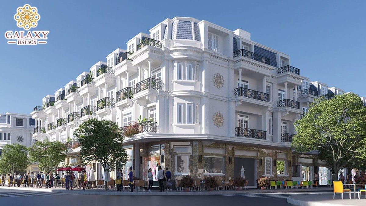 Shophouse Dự án Galaxy Hải Sơn Đức Hòa Long An