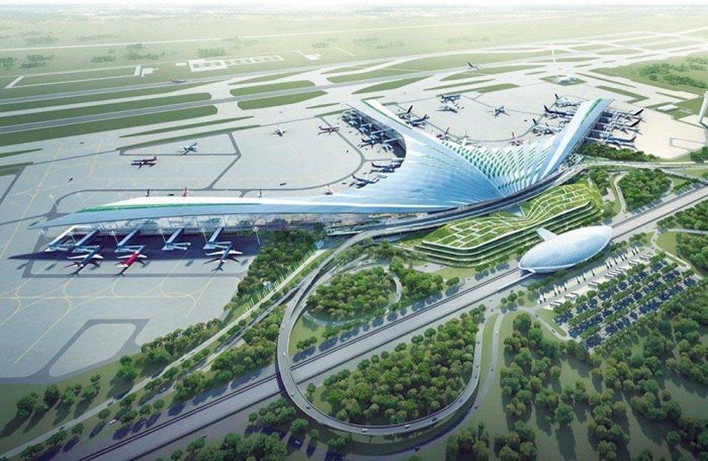 Phối cảnh Siêu sân bay Long Thành trong tương lai