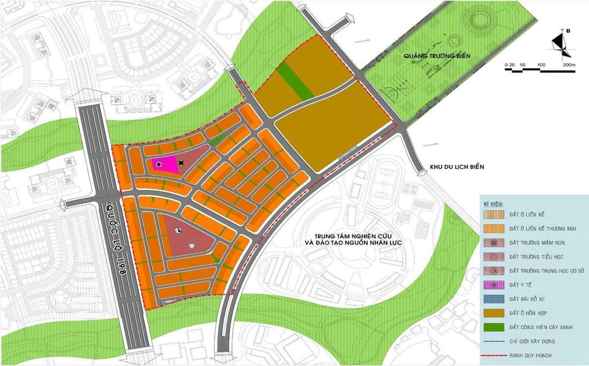 Thông tin quy hoạch Dự án Nhơn Hội New City