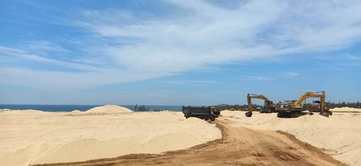 Cập nhật tiến độ thi công Khu vực ven Biển tại Nhơn Hội New City Tháng 7/2019