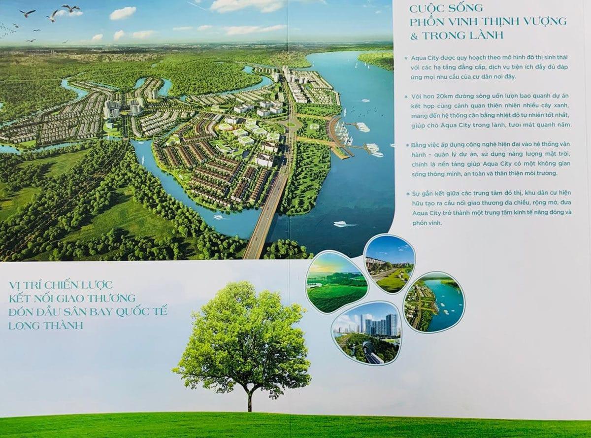 Tiện ích ngoại khu Dự án Aqua City