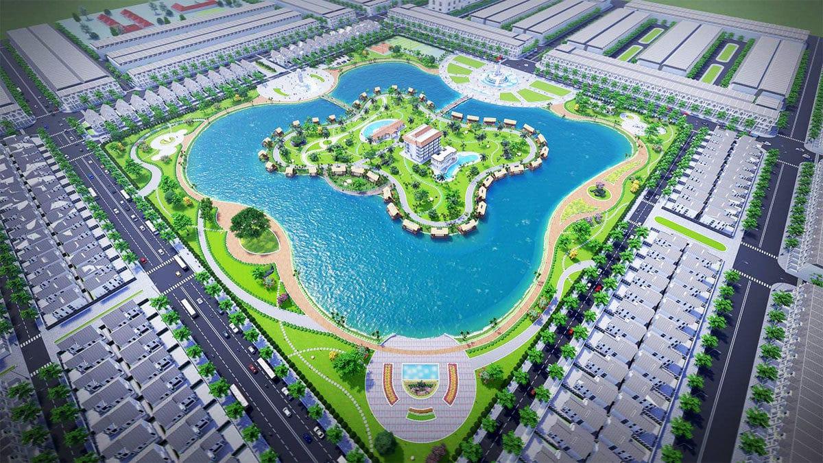 Tiện ích nội khu Dự án Khu đô thị Happy Home Cà Mau
