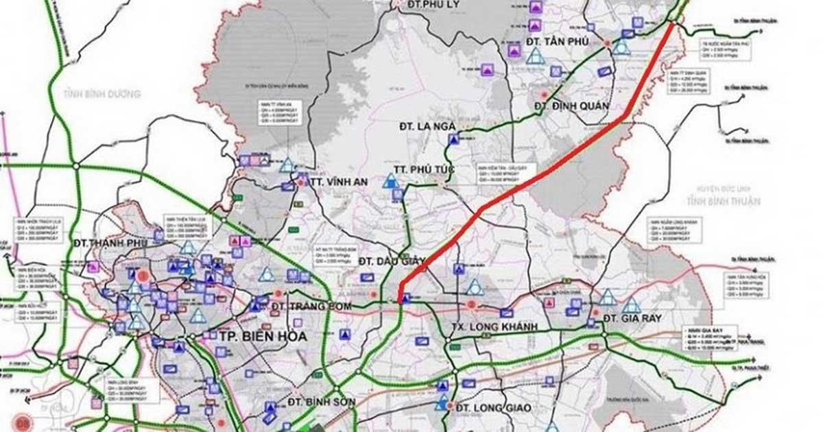 Cao toc TP HCM Long Thanh Dau Giay Lien Khuong - DỰ ÁN ĐẤT NỀN BẢO LỘC GOLDEN CITY