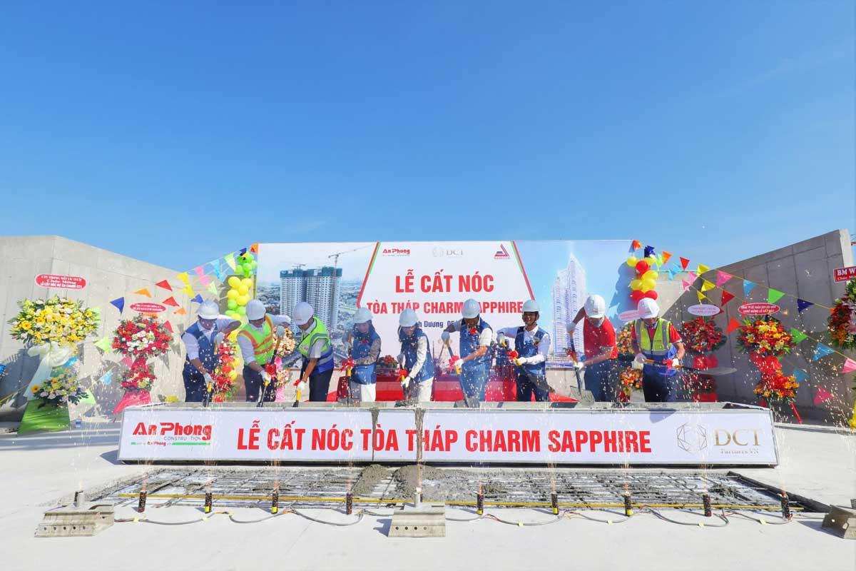 Le cat noc toa thap Charm Sapphire toan thap thuoc Du an Charm City Binh Duong - CHARM DIAMOND CITY