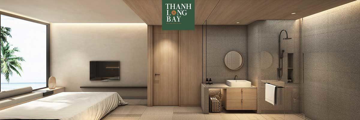 Phòng ngủ Căn hộ 2PN Block Sky Garden Dự án Thanh Long Bay