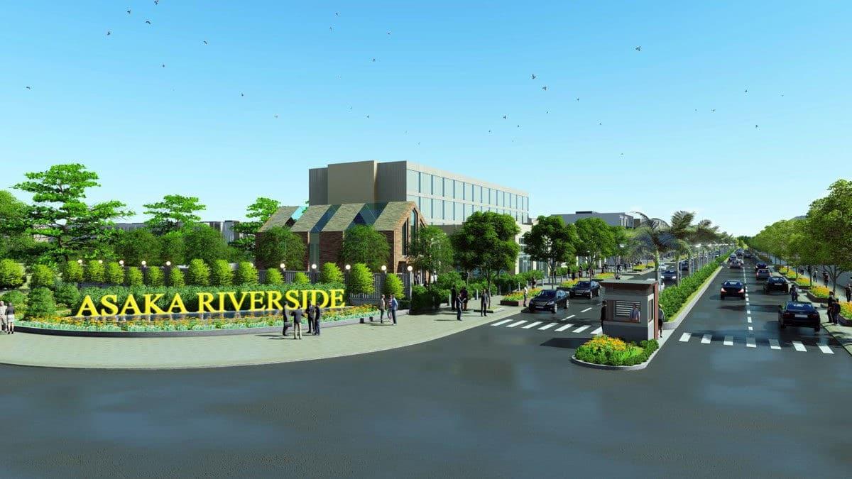 asaka riverside - DỰ ÁN ASAKA RIVERSIDE BẾN LỨC LONG AN