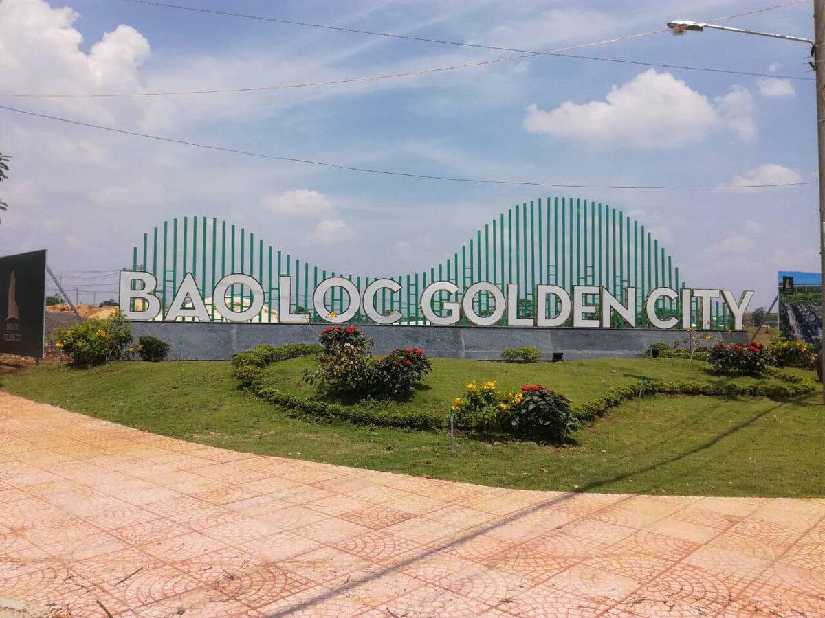 cong du an bao loc golden city - DỰ ÁN ĐẤT NỀN BẢO LỘC GOLDEN CITY