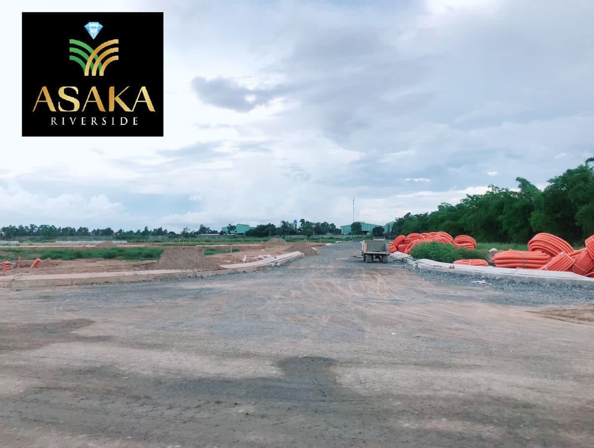 Hình ảnh thực tế tại Dự án Asaka Riverside Bến Lức Long An