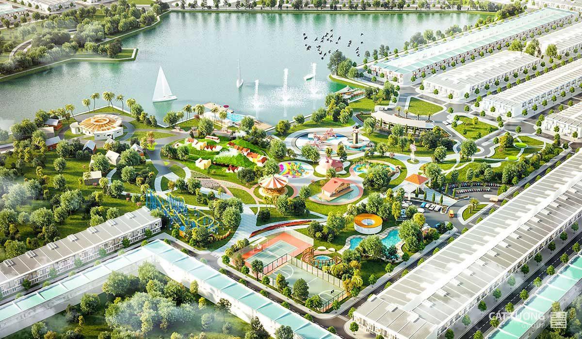 Công viên Dự án Khu đô thị Cát Tường Phú Sinh 2