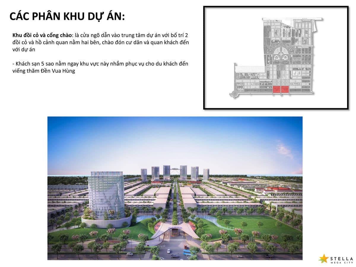khu doi co va cong chao du an stella mega city - DỰ ÁN STELLA MEGA CITY CẦN THƠ