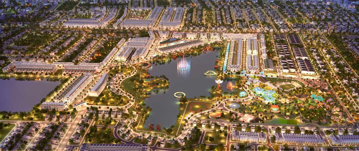 Hồ sinh thái Dự án Khu đô thị Cát Tường Phú Sinh 2