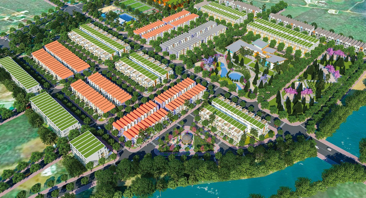 phoi canh du an bao loc golden city - DỰ ÁN ĐẤT NỀN BẢO LỘC GOLDEN CITY