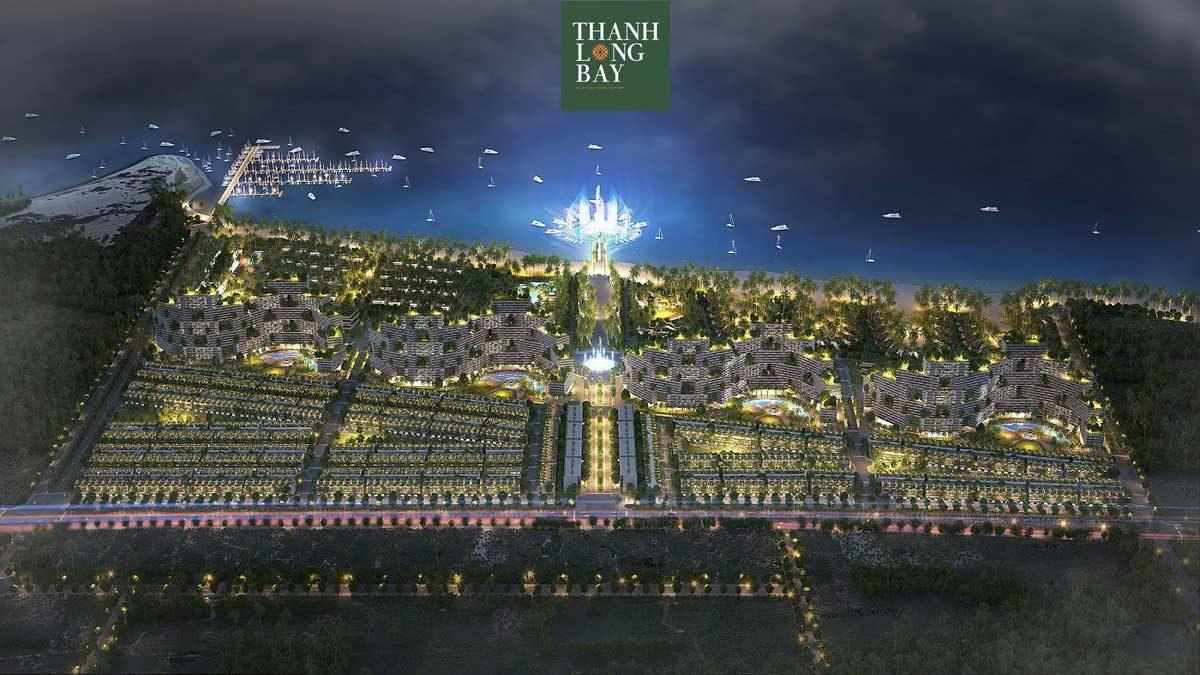 Phối cảnh Khu đô thị Thanh Long Bay Phan Thiết Bình Thuận