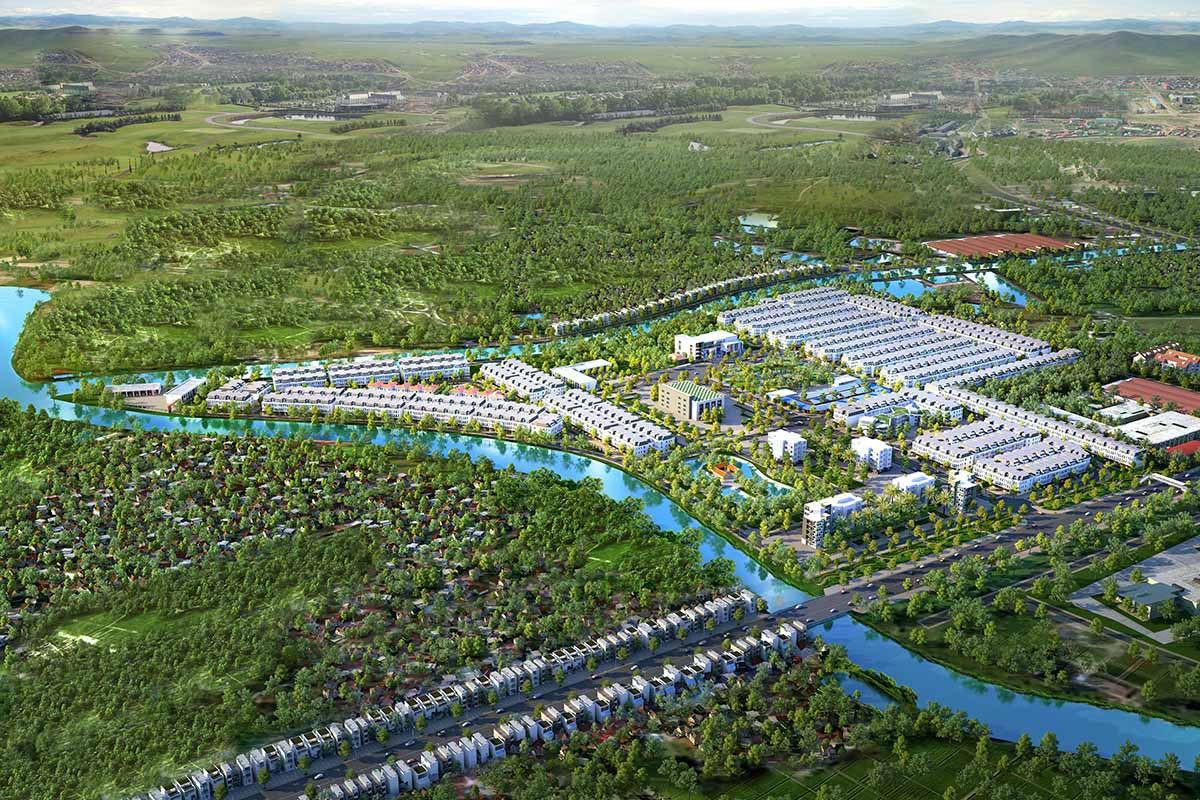 Dự án Asaka Riverside Bến Lức Long An Phối cảnh tổng thể Vị trí