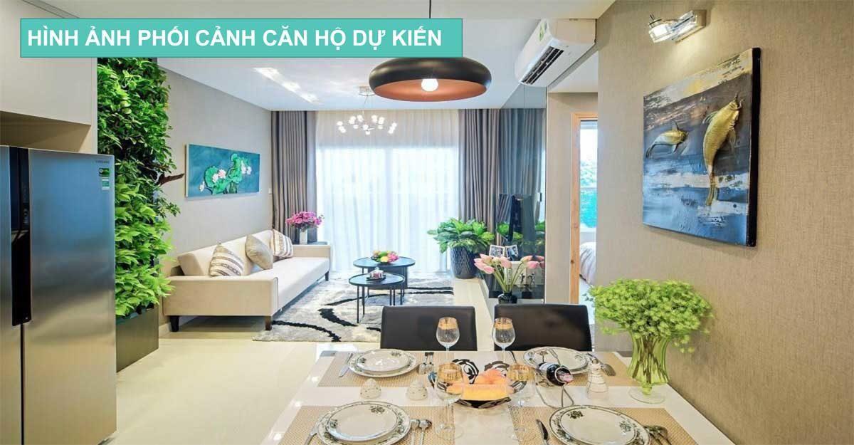 phong khach central apartment kinh duong vuong - DỰ ÁN CĂN HỘ NHÀ Ở XÃ HỘI CENTRAL APARTMENT BÌNH TÂN