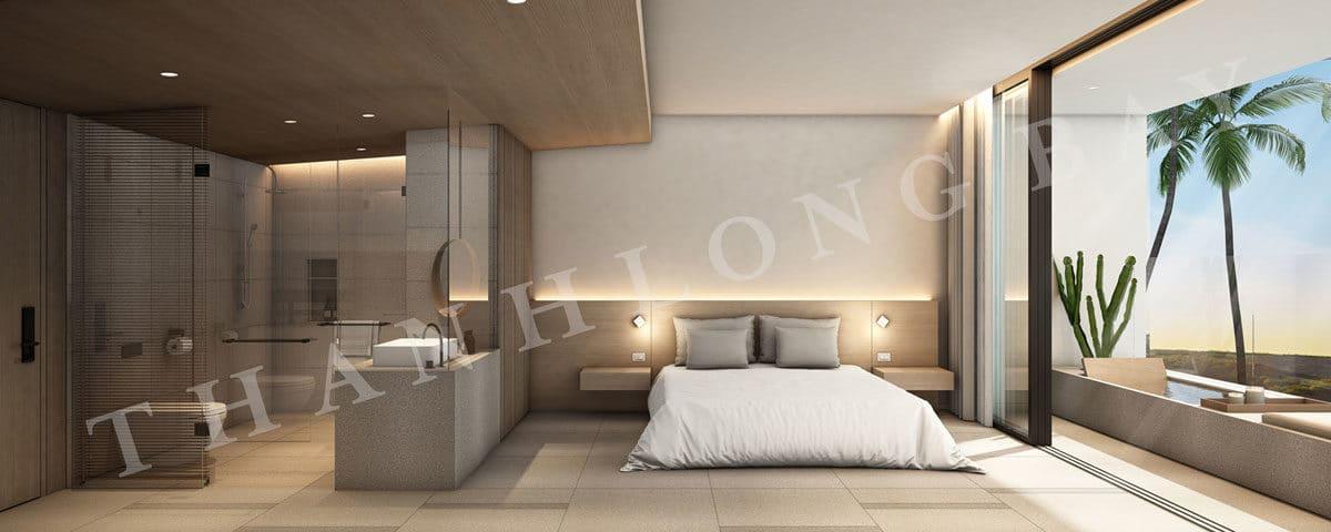 Thiết kế Căn hộ 1 Phòng Ngủ Block Sky Garden Dự án Thanh Long Bay