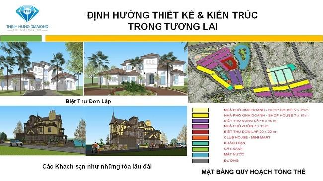 Quy hoạch tiện ích Thịnh Hưng Diamond