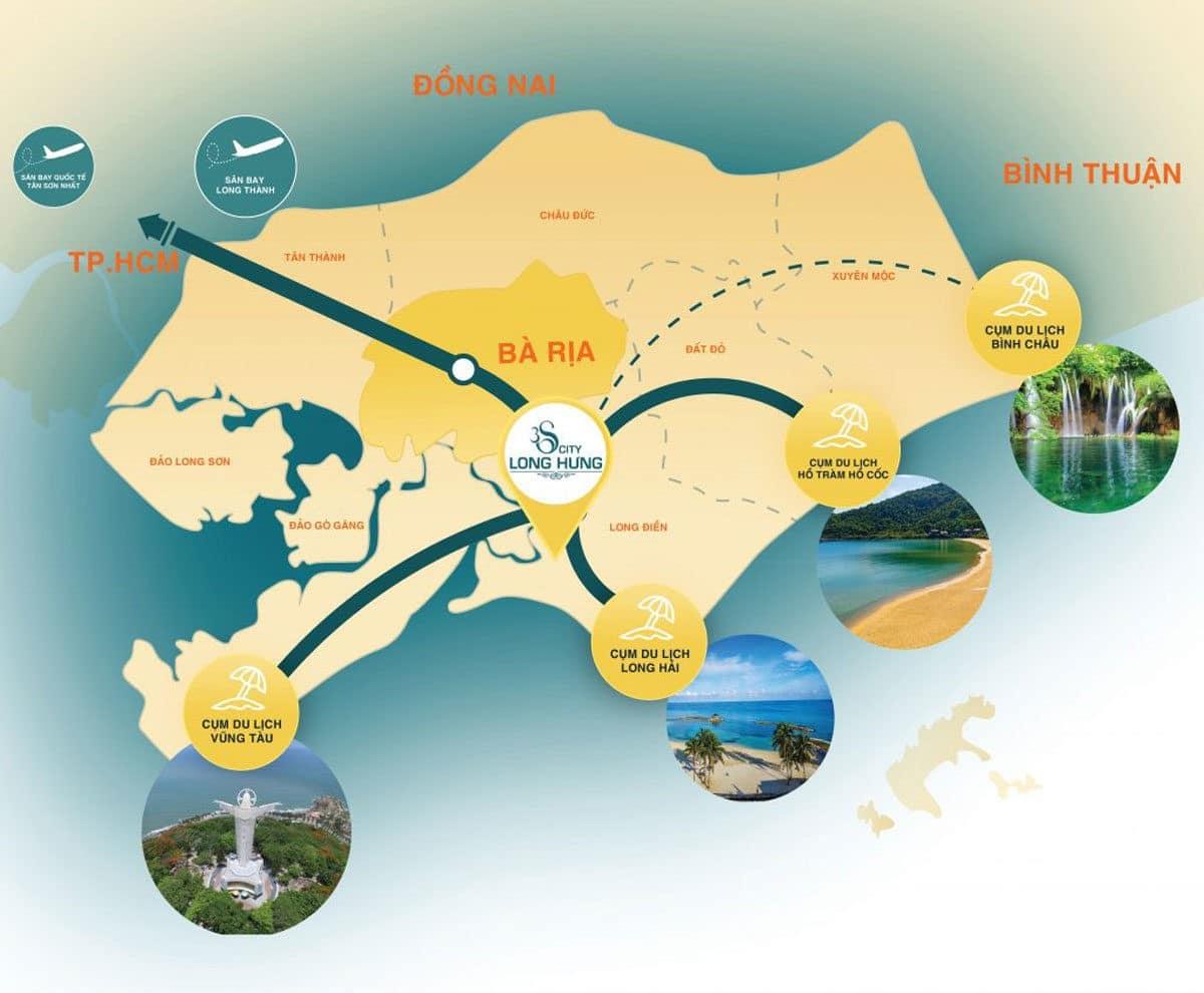 Tiện ích Ngoại khu Dự án Khu đô thị 3S City Long Hưng