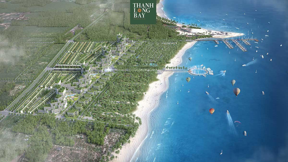 Toàn cảnh Dự án Khu đô thị Thanh Long Bay Phan Thiết Bình Thuận