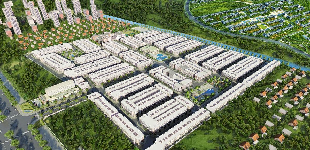 Tổng quan Dự án Asaka Riverside Bến Lức Long An