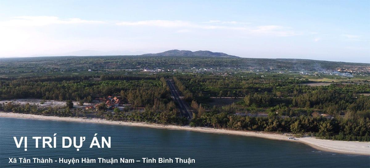 Vị trí Dự án Thanh Long Bay Lagi Phan Thiết Bình Thuận