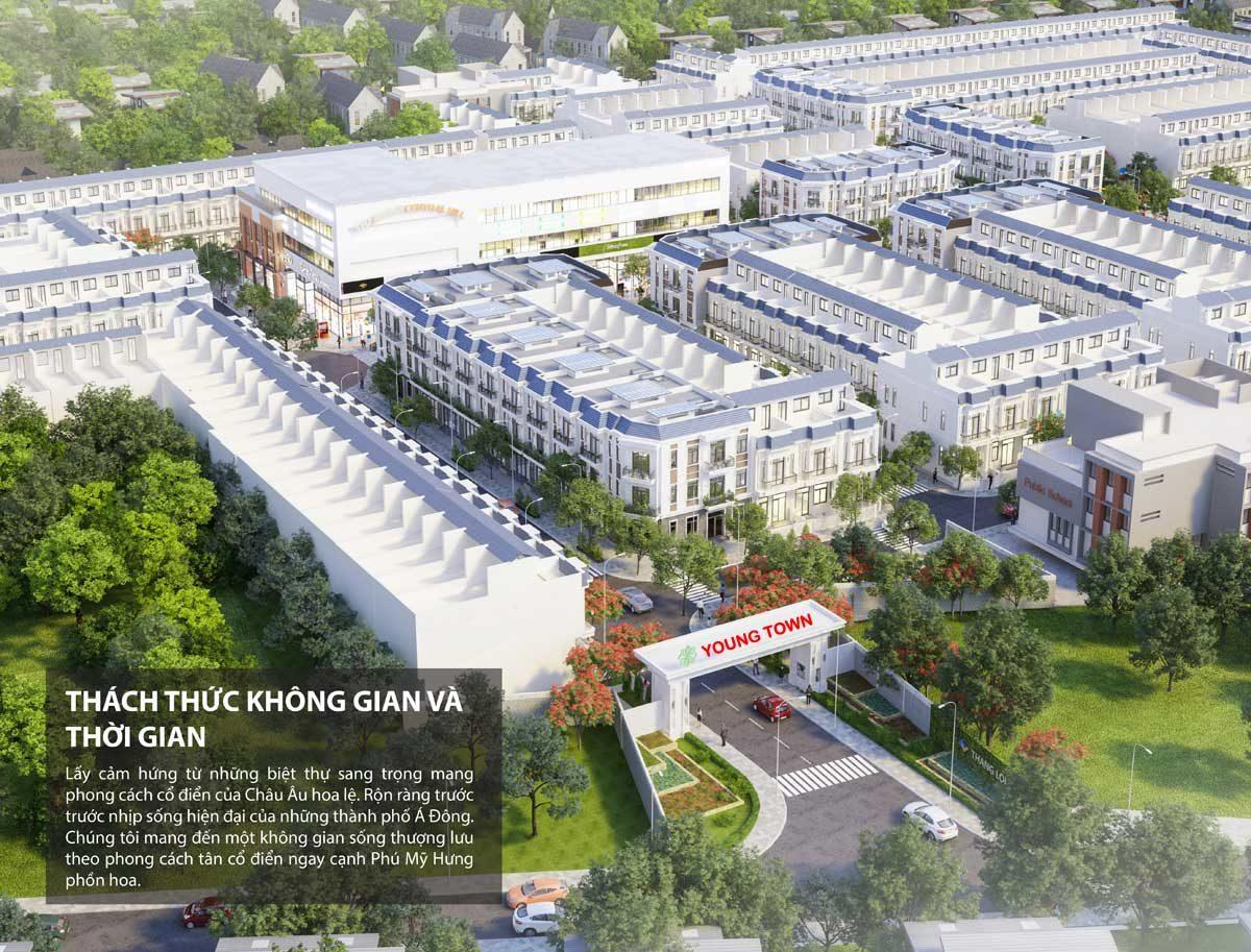 Phối cảnh Dự án Young Town Tây Bắc Sài Gòn