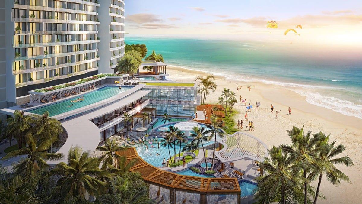Tiện ích Beach Club Dự án Wyndham Tropicana Long Hải