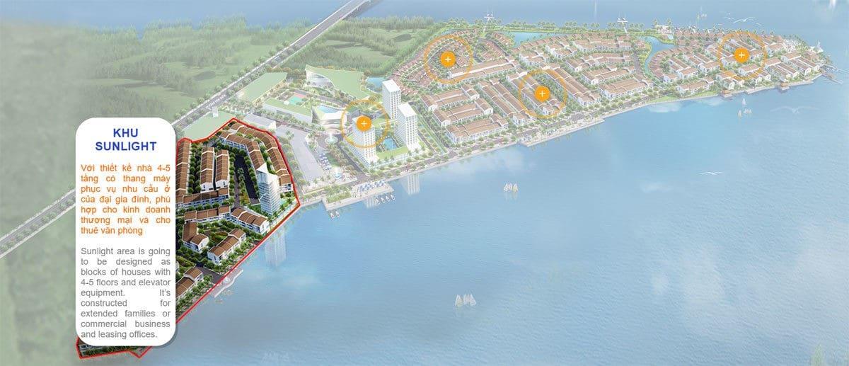 Khu Sunlight Marine City Ba Ria - DỰ ÁN MARINE CITY BÀ RỊA VŨNG TÀU
