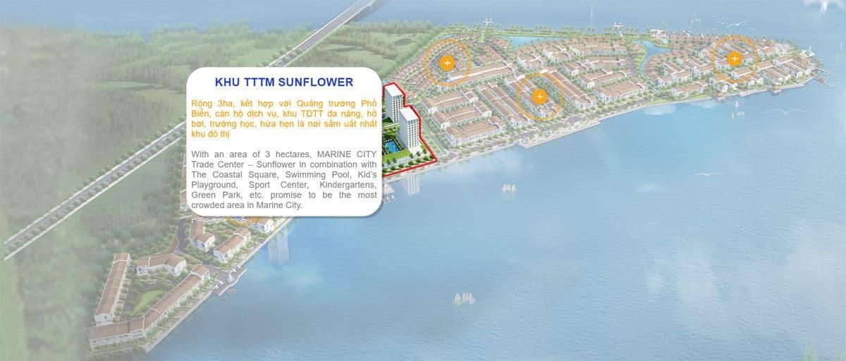 Khu trung tâm tài chinh- thương mại kết hợp quảng trường Biển dự án Marine City