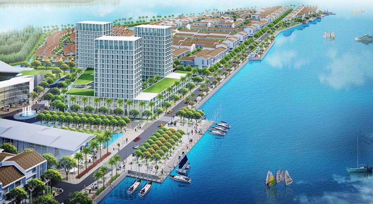 Phối cảnh Dự án Khu đô thị Phố biển Marine City