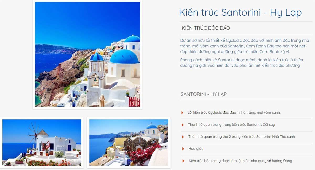 Thiên đường Satorini trên vịnh Cam Ranh - DỰ ÁN CĂN HỘ CAM RANH BAY HOTELS & RESORTS