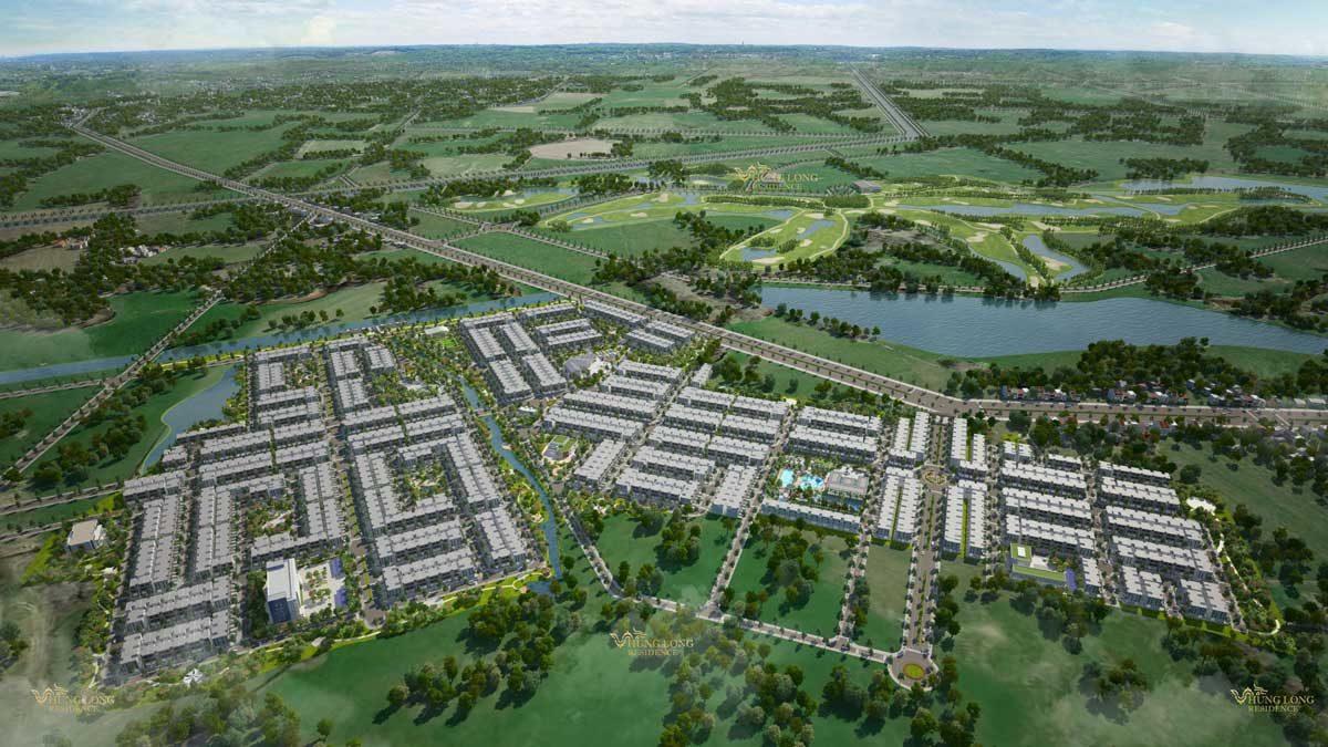 Dự án Khu Nghỉ Dưỡng Cao Cấp West Lakes Golf & Villas Long An
