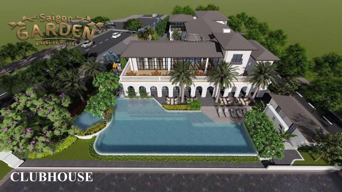 Clubhouse Dự án Saigon Garden Riverside Village Quận 9