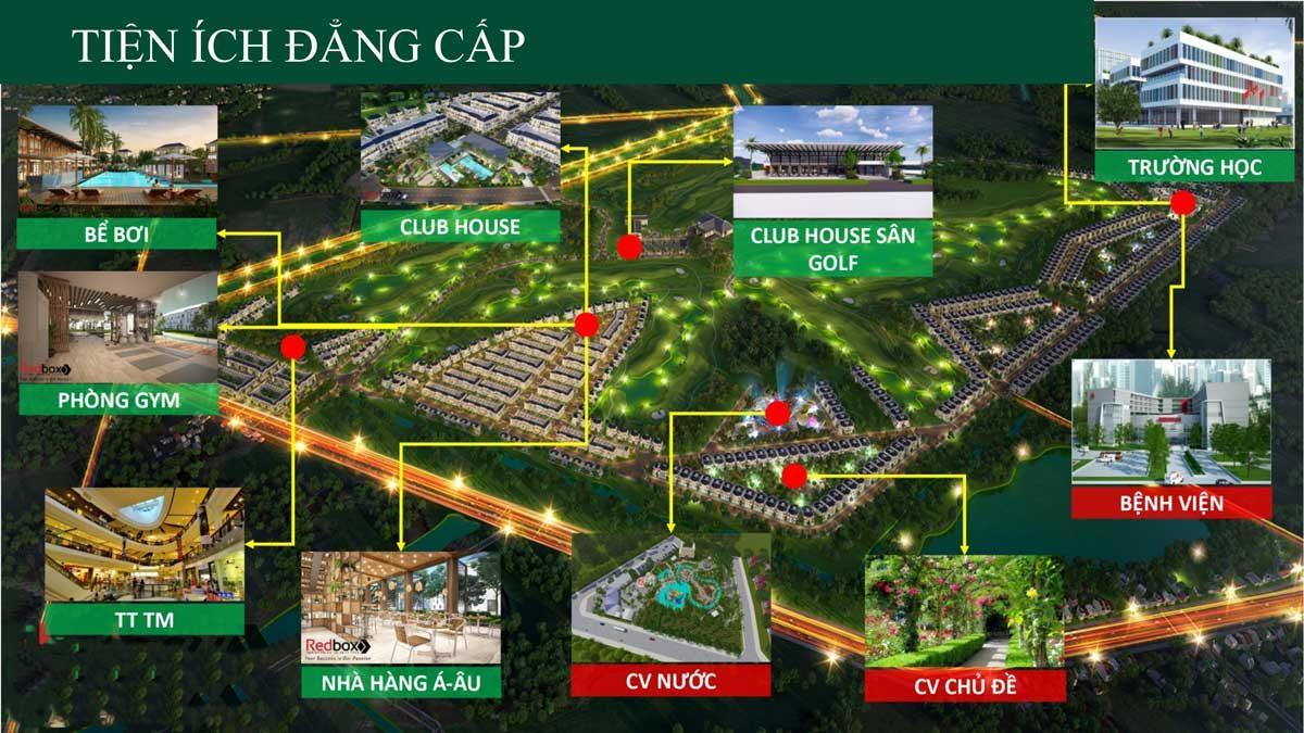 he thong tien ich noi khu du an west lakes golf villas long an - DỰ ÁN WEST LAKES GOLF & VILLAS LONG AN