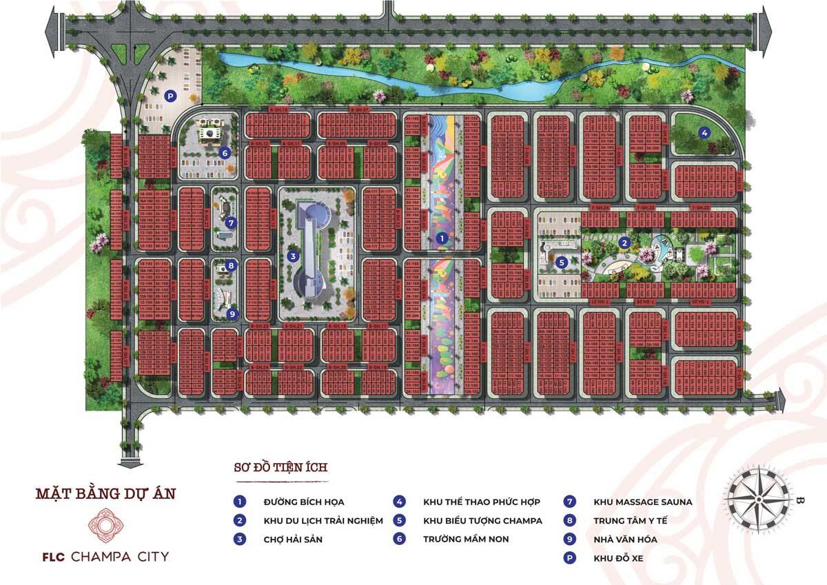 mat bang FLC Champa City - DỰ ÁN FLC QUẢNG NGÃI BEACH & GOLF
