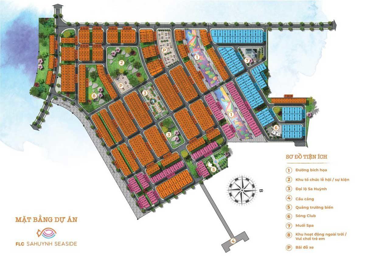 mat bang FLC SaHuynh City - DỰ ÁN FLC QUẢNG NGÃI BEACH & GOLF
