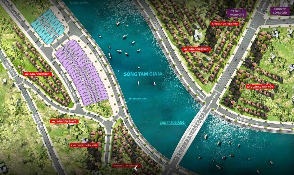 Dự án Đất nền Sông Cầu Riverside Phú Yên