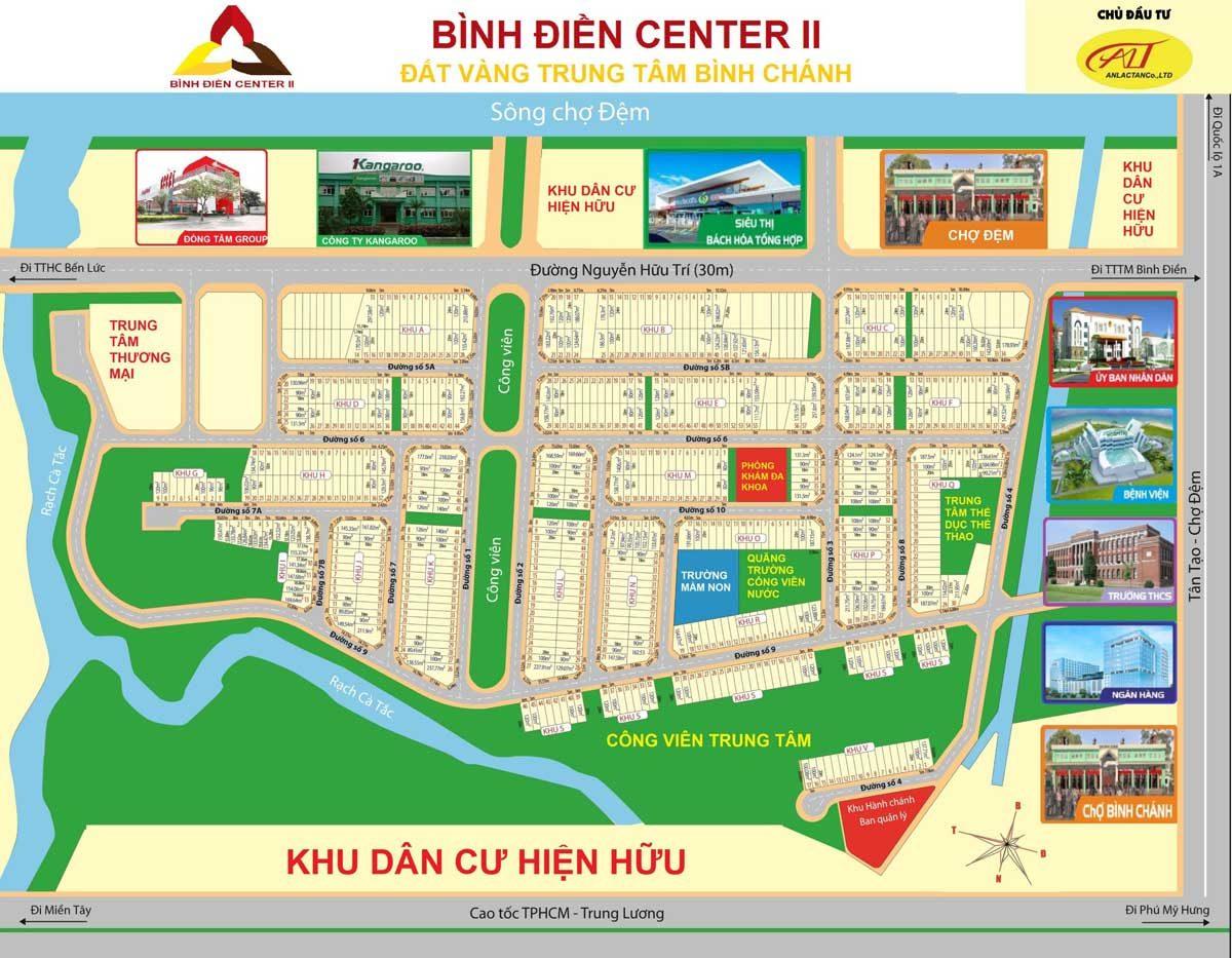 mat bang phan lo binh dien center 2 - DỰ ÁN BÌNH ĐIỀN CENTER 2 BÌNH CHÁNH