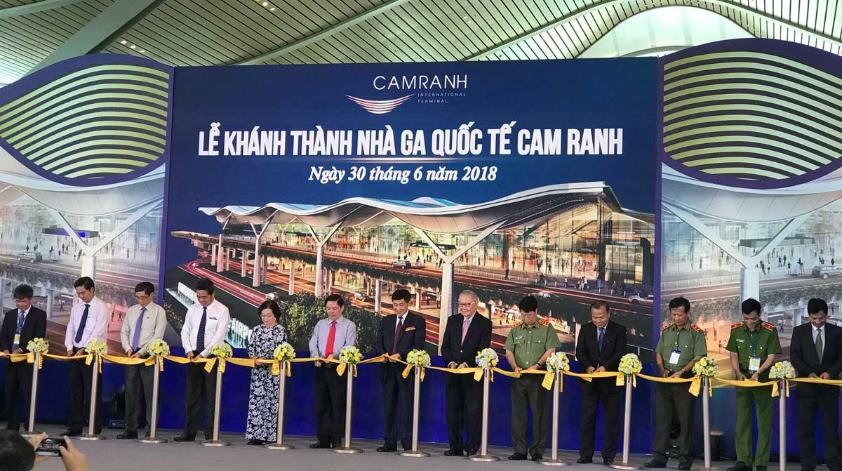Lễ Khánh thành nhà ga quốc tế Cam Ranh