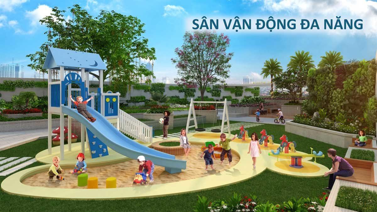 Sân vận động đa năng tại Căn hộ Saigon Asiana Quận 6