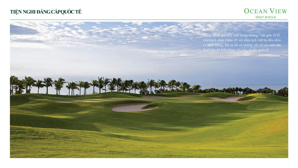 tien ich san golf Sea Links City 1 - DỰ ÁN OCEAN VIEW GOLF & VILLAS PHAN THIẾT