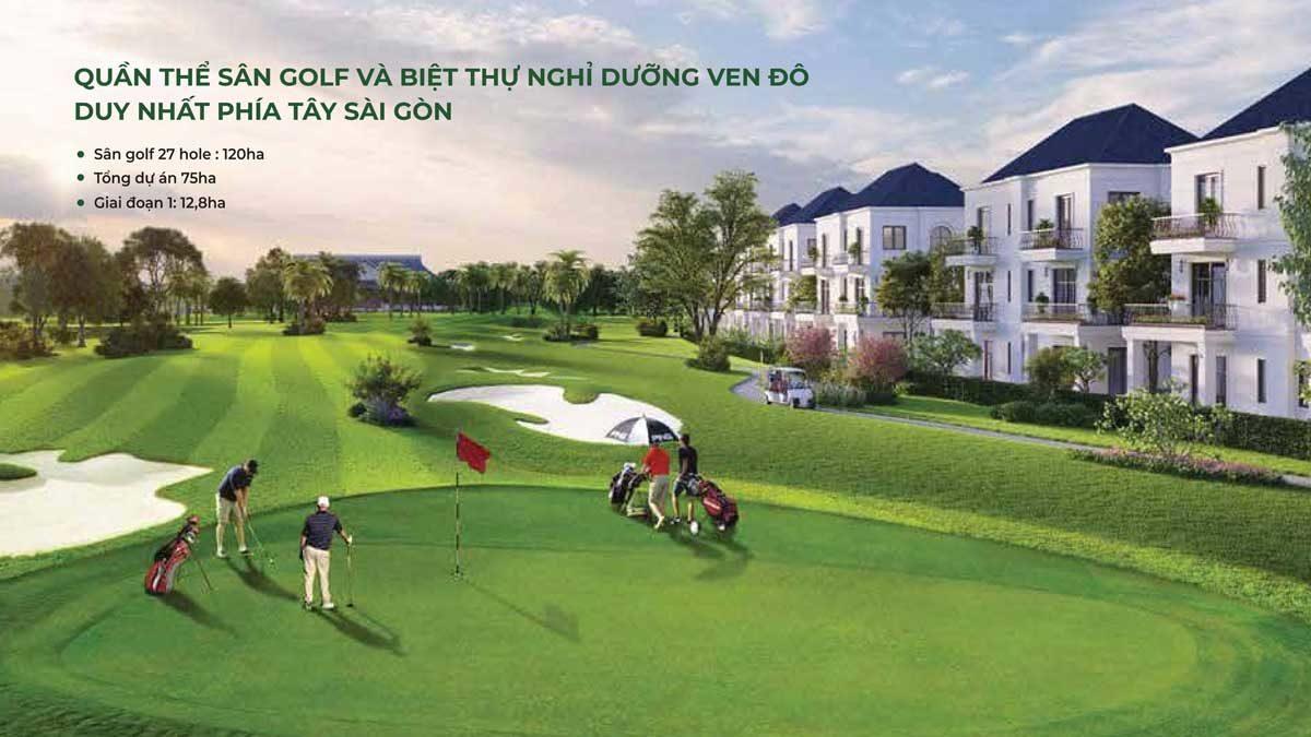 tien ich san golf tai west lakes golf villas - DỰ ÁN WEST LAKES GOLF & VILLAS LONG AN