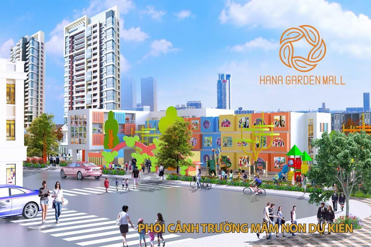 truong-mam-non-du-an-hana-garden-mall