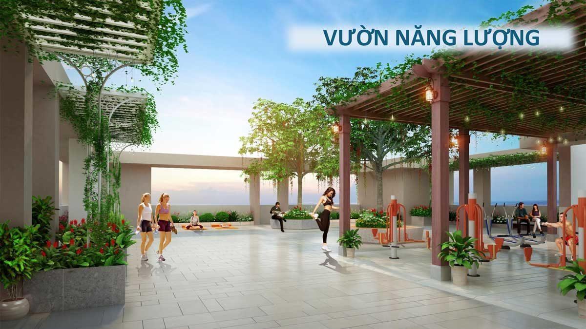 Vườn năng lượng tại Căn hộ Saigon Asiana Quận 6