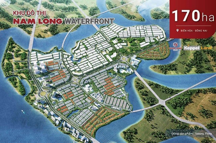 waterfront - DỰ ÁN KHU ĐÔ THỊ WATERFRONT CITY ĐỒNG NAI