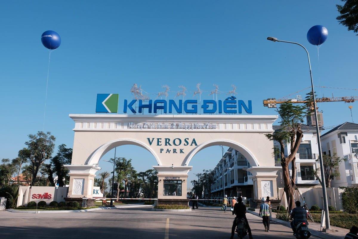 cong chao du an verosa park 1 - DỰ ÁN NHÀ PHỐ BIỆT THỰ VEROSA PARK QUẬN 9