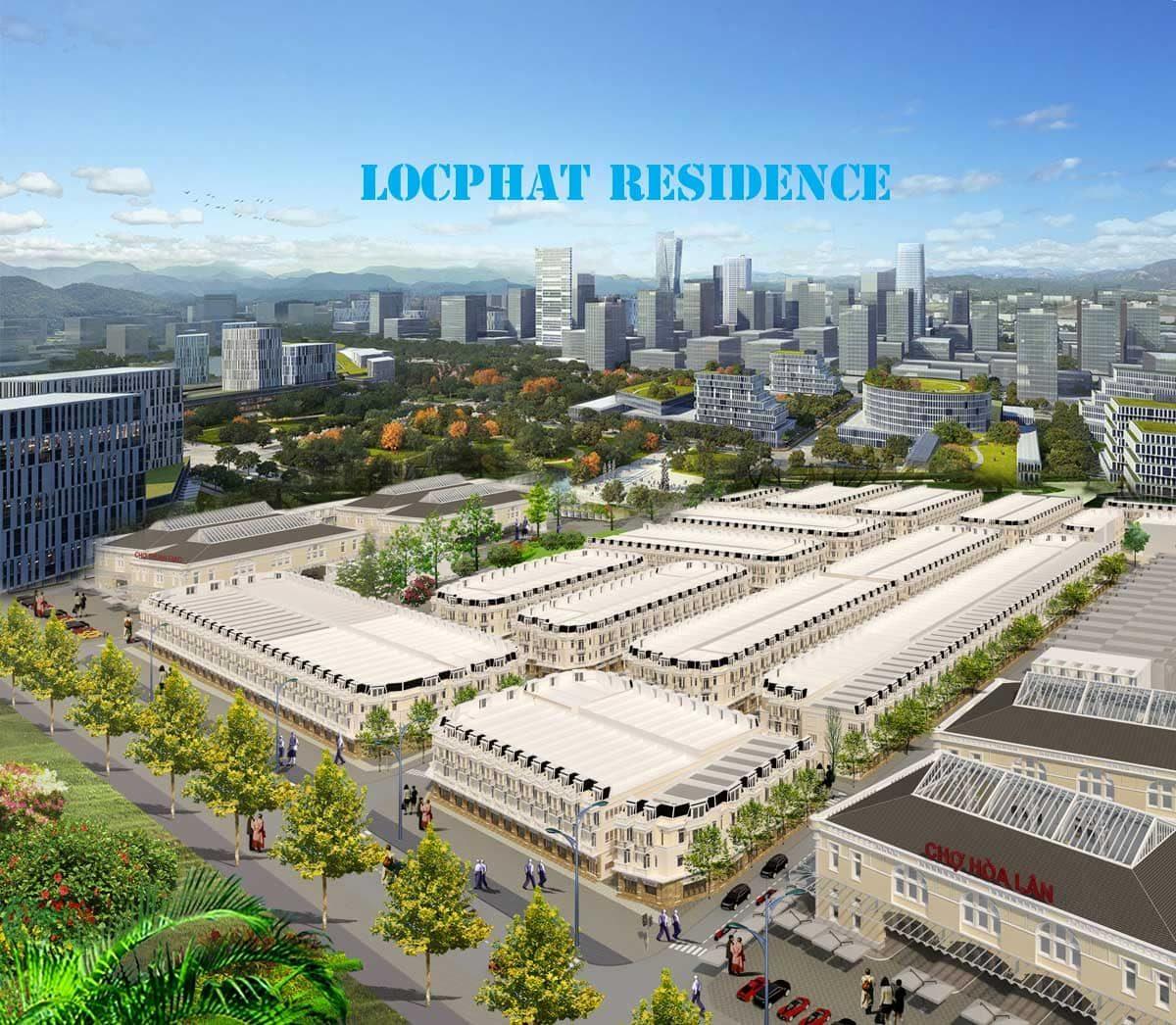 Lộc Phát Residence đối thủ trực tiếp của Đất nền Icon Central Dĩ An