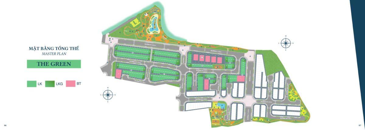 mat bang the green du an verosa park - DỰ ÁN NHÀ PHỐ BIỆT THỰ VEROSA PARK QUẬN 9