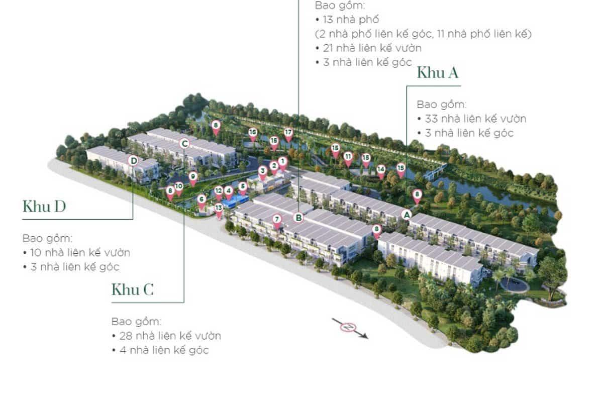 Mặt bằng Dự án Verosa Park Khang Điền Quận 9