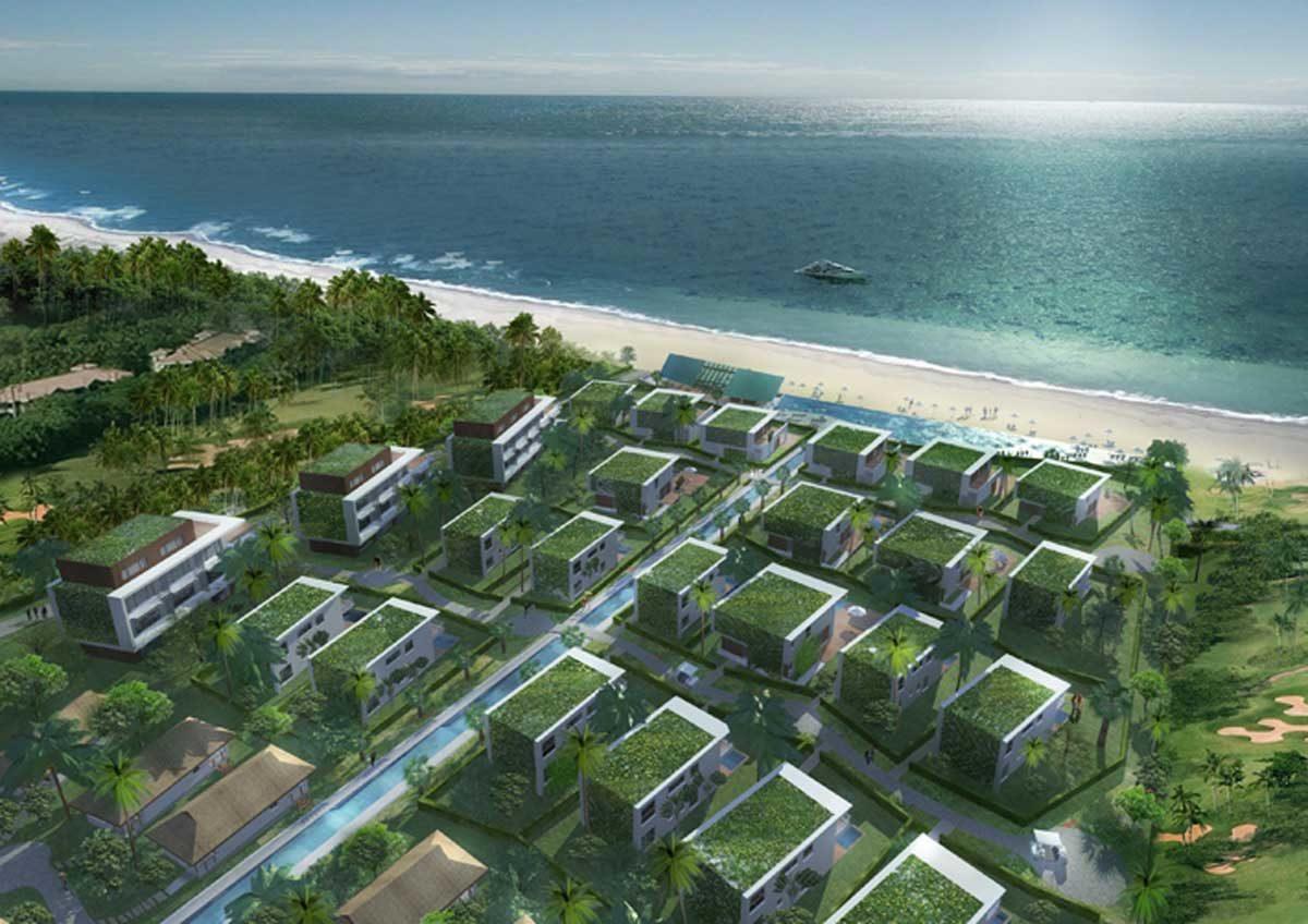 phoi canh biet thu non nuoc beach - DỰ ÁN BIỆT THỰ BIỂN NON NƯỚC ĐÀ NẴNG
